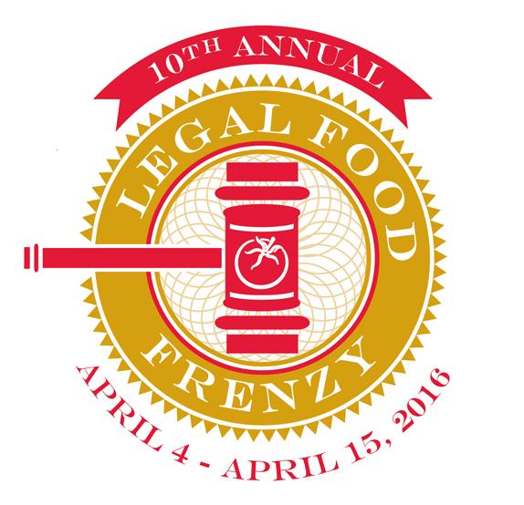 10th Annual Legal Food Frenzy logo