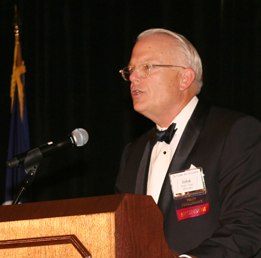 John D. Epps, recipient of the Roger D. Groot Pro Bono Publico Service Award