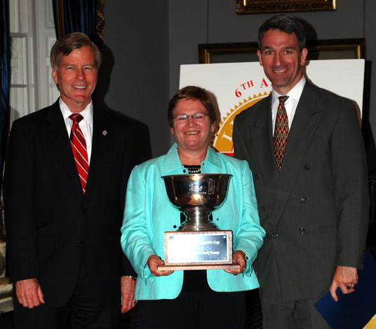 B. Cullen Gibson law firm in Norfolk receives 2012 Attorney General's Cup for top finish in Legal Food Frenzy