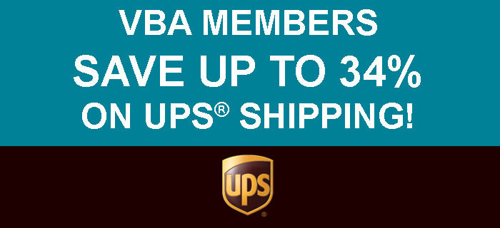 UPS coupon ad for VBA Voice