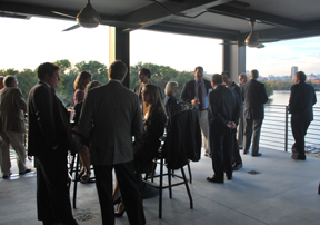 VBA Real Estate Section social at The Boathouse in Richmond 10/2012