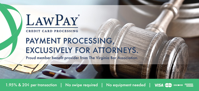 LawPay is a VBA affinity partner