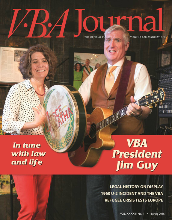 Spring 2015 VBA Journal cover