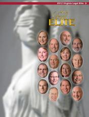 Virginia Business magazine Legal Elite 2012