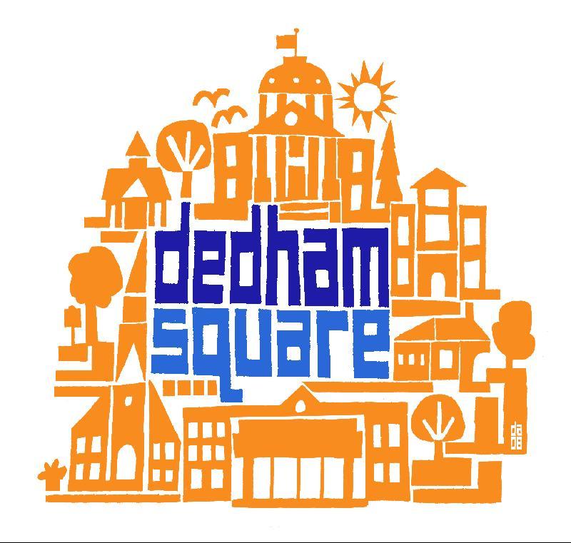 dedham square  logo
