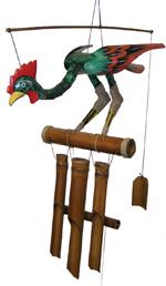 Bird Bamboo Chime