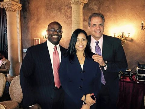 Matt at the Florida Bar Board of Govenors Meeting on July 2015 with Jason Murray and Ileana Cruz-Bongini