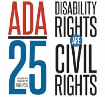 logo for the ADA 25 legacy tour
