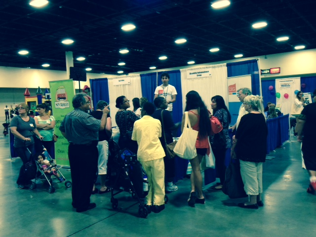 Jordan Nassar at the Broward CIL Expo 2014.