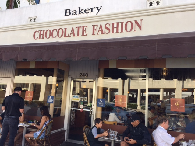 Storefront of Chocolate Fashion