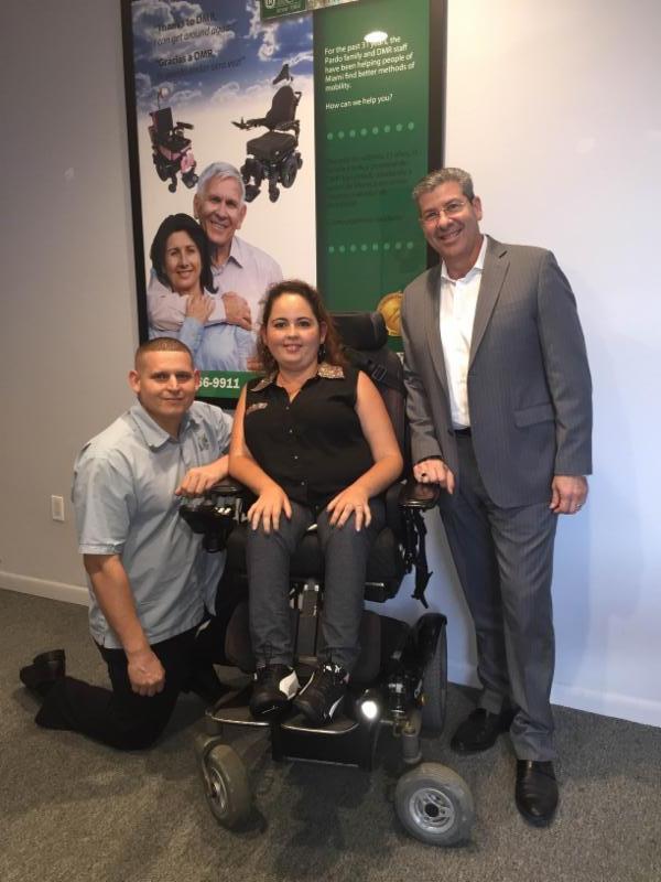 Lazaro Muniz, Lorinda Gonzalez and Angel Pardo