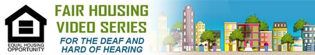 Logo for the fair housing video series.