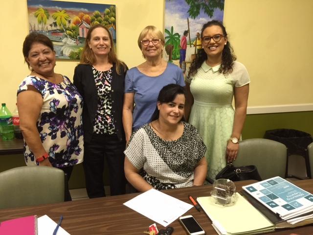 OVW partners.  Susan, Debbie, Sharon, Amanda, and Ana.