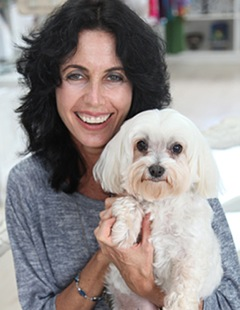 Michele and her dog