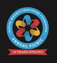 The logo for the Kozyak Minority Mentoring Foundation Annual Picnic