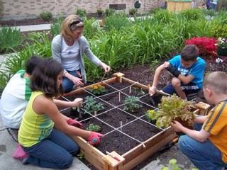Thalberg School Garden 1