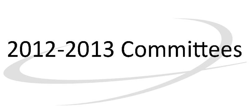2012-2013 Committees
