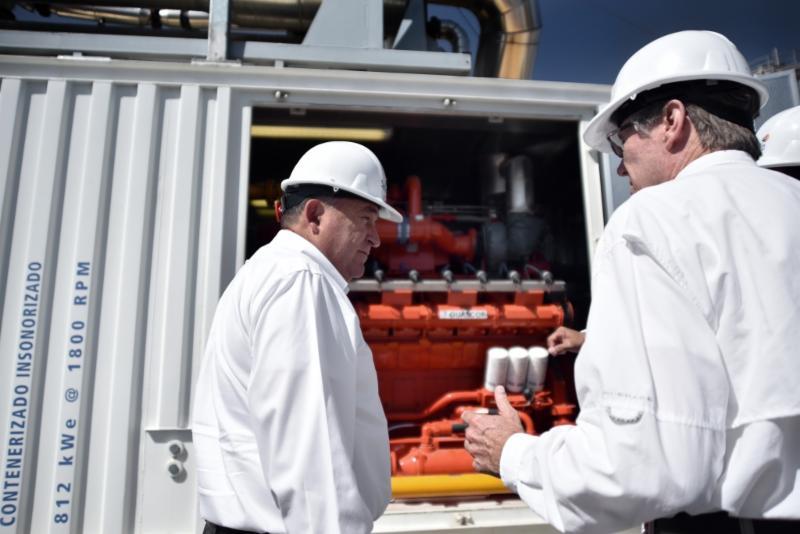 Arranca cogeneración de energía eléctrica y térmica en planta tratadora