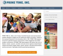PRIME TIME Website