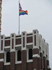 Rainbow Flag on St. Paul's