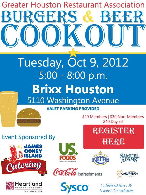2012 Burgers & Beer eblast