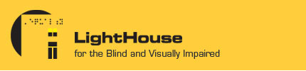 LightHouse for the Blind and Visually Impaired logo