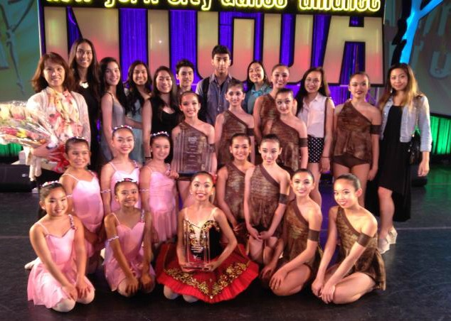 WSPA delegates to the New York City Dance Alliance Finals