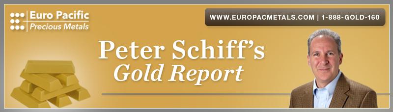 Peter's Schiff's Gold Report Header V3