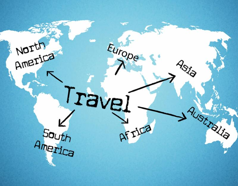Travel Worldwide Representing Travelled Travelling And Globalize