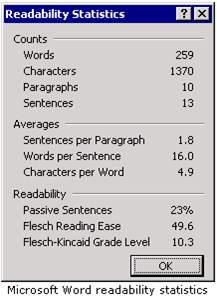 Word Readability