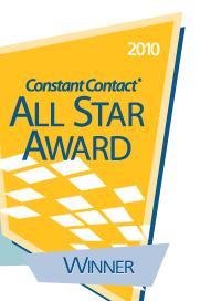 constant contact award 2010