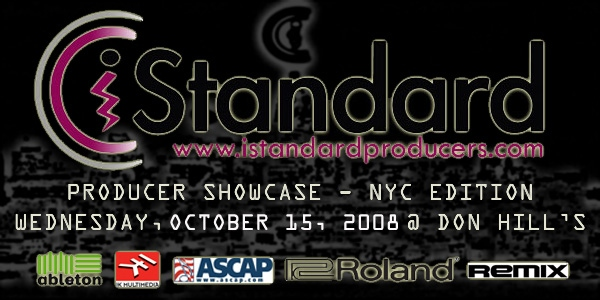 iStandard Producer Showcase - October NYC Edition