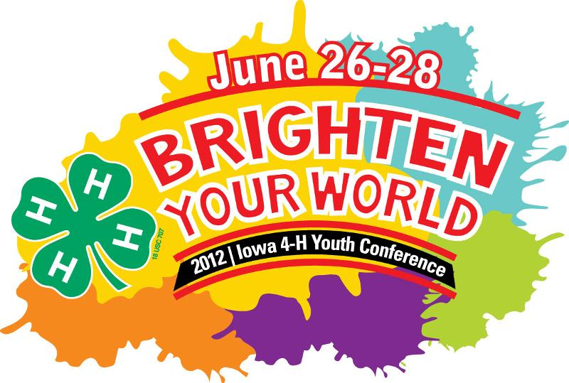 2012 Iowa 4-H Youth Conference Photo