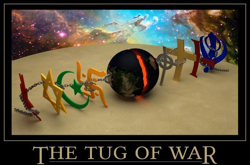 Religious Tug of War