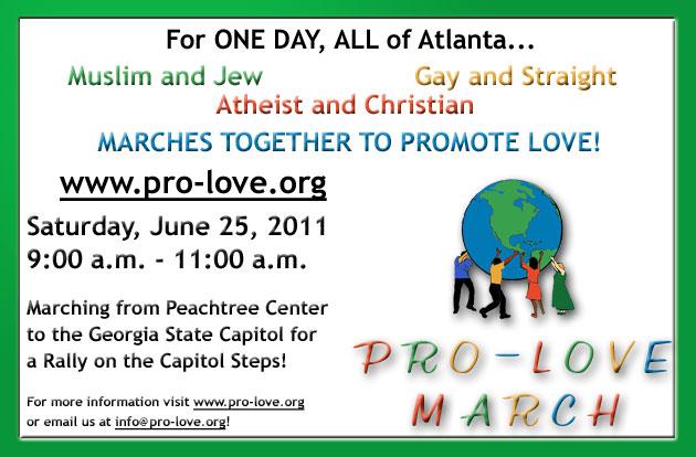 Pro-Love Flyer 2011