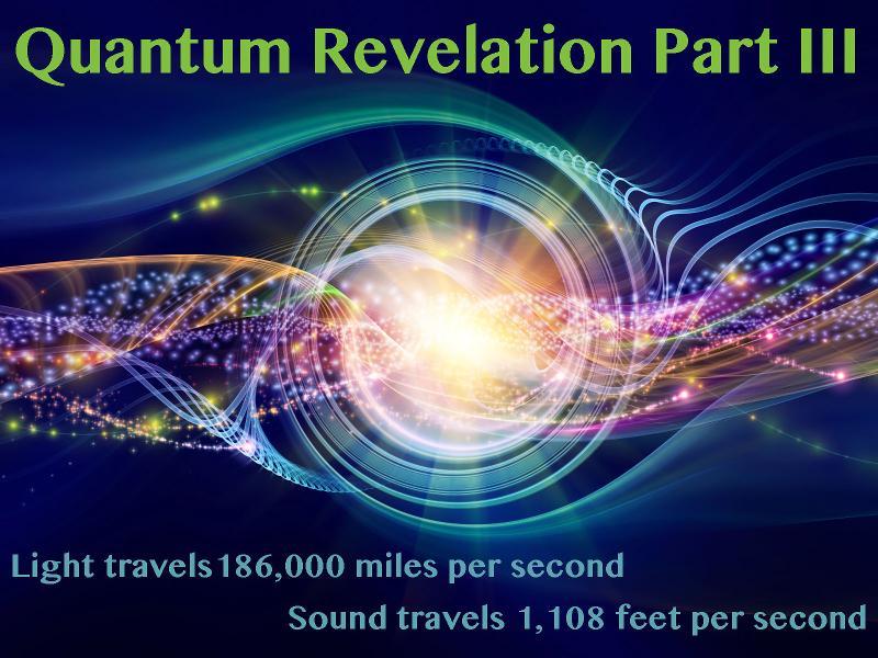 Quantum Revelation Part III