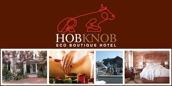 Hob Knob logo banner