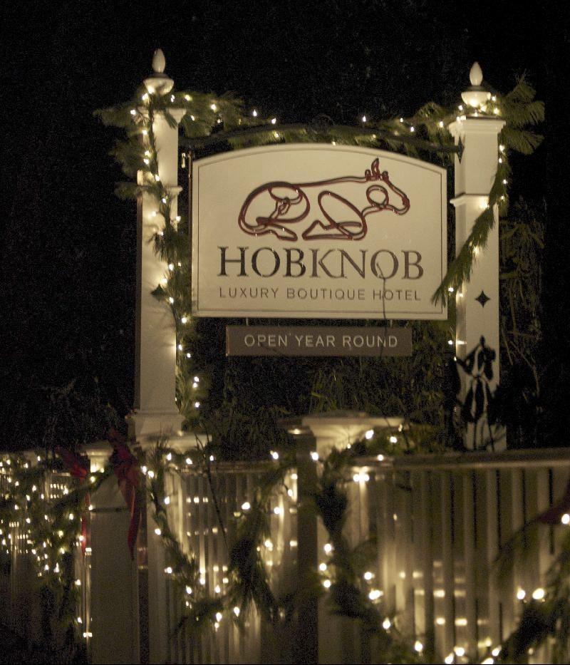 Hob Knob Sign - Xmas