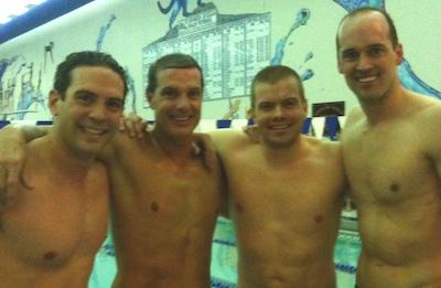 Illinois Masters Record relay