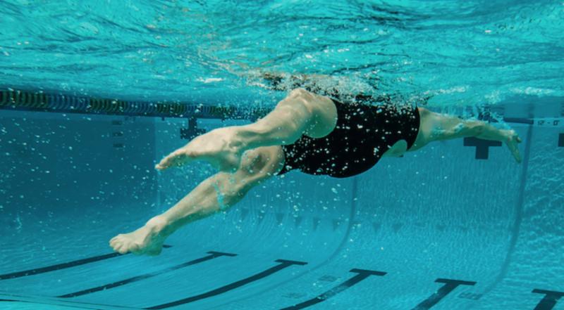 Peter H. Bick image backstroke swimmer