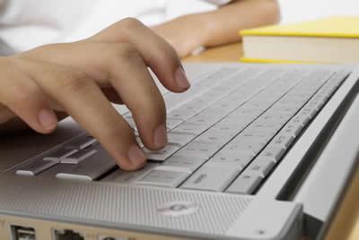 silver-keyboard.jpg, typing