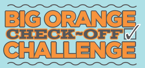 Big Orange check-off challenge logo