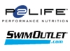P2Life, SwimOutlet combined logo