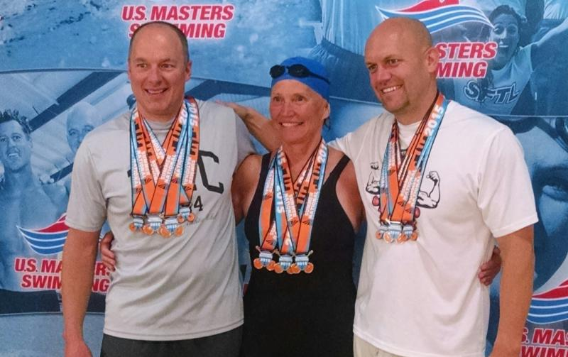 Greg, Bette, and Kevin Grotke 2015 Summer Nats