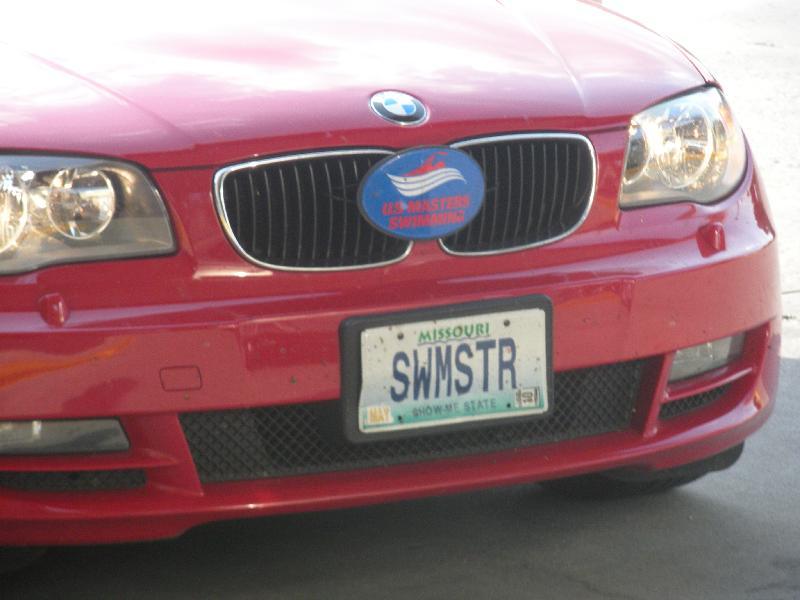 Swim Master Plate