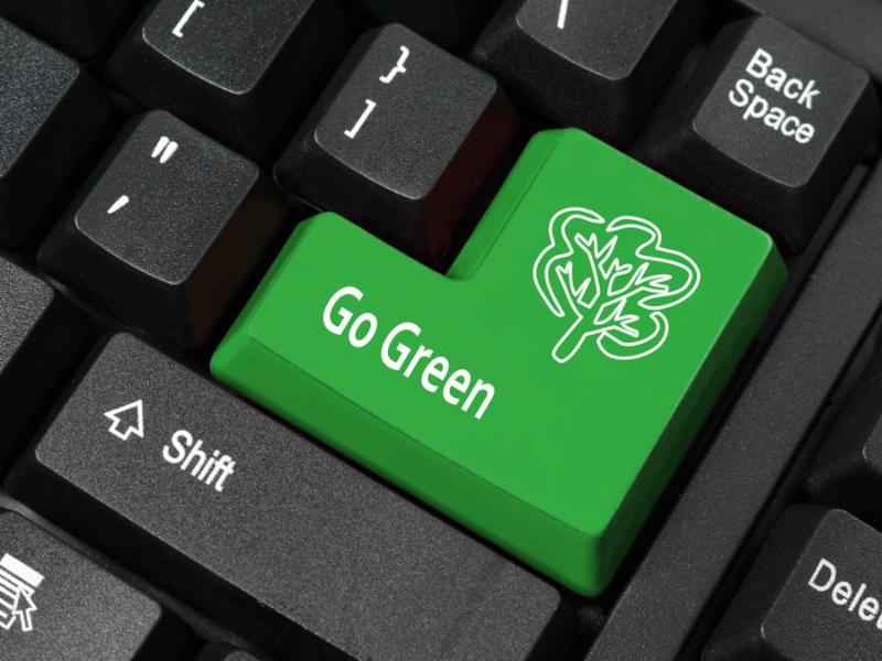 go green keyboard