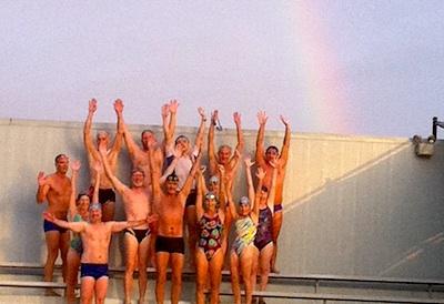 Santa Rosa Rain and Rainbows