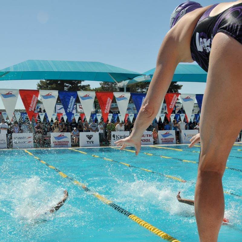 relay start, blocks, swimming, swimmer
