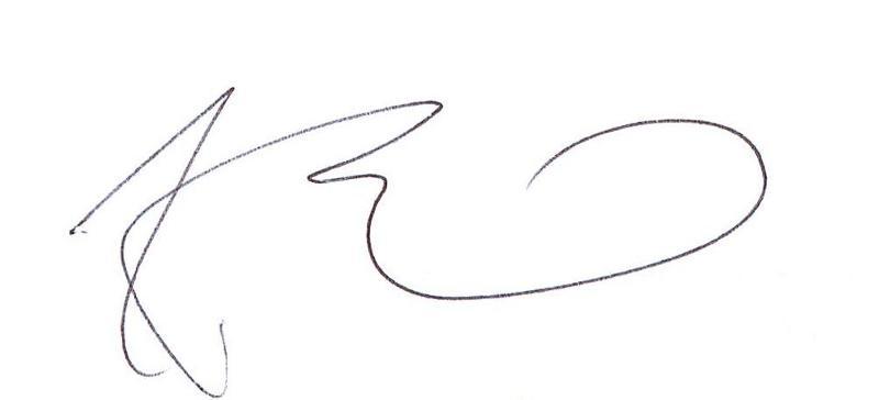 frank bennett signature