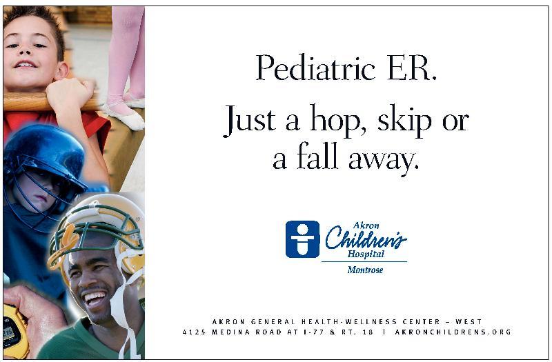 Akron Children's Mini Golf Ad